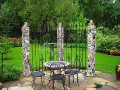 Custom mosaic outdoor pieces by CAC Mosaic Designs
