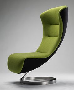 olive #green Lounge #Chair