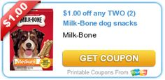 Sweet Coupon Deals -http://www.sweetcoupondeals.com New Milk-Bone coupon & great deal starting 9/28 at Target