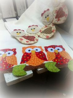 Owl and chicken runners