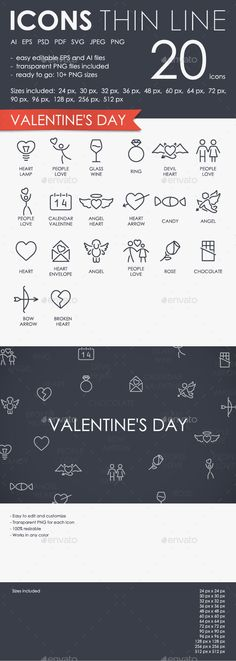 Download Free Graphicriver 	             Valentine's Day Thinline Icons            #beautiful #celebration #creative #cupid #day #decoration #decorative #feeling #gift #graphics #greeting #happy #heart #holiday #icons #inclination #line #love #outline #passion #phone #reciprocity #recognition #strokeicons #thin #valentines #valentinesday #womens
