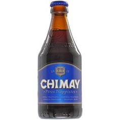 Cerveja Belga Belgian Strong Ale Chimay Blue 330ml