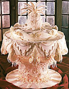I wanted this for my wedding cake since I was just a child, my mother would have killed me!  I still like it.