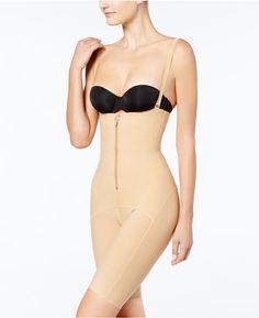 2160ec8599574 Leonisa Firm Tummy-Control PowerSlim-Layered Thigh Slimmer 018470 Women -  Bras