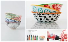 Pretty Patterned Bowls | 50 DIY Anthropologie Hacks For Every Facet Of Your Life
