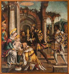 Bartlmä Dill Riemen- schneider: (Burgstall-) Adoration of the kings, Burgstall, city church (Anbetung durch die Hl. Drei Könige) - Wikipedia.de