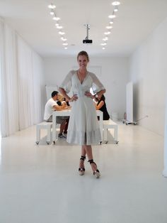 Open Day, now! Opening Day, White Dress, Poses, Photography, Inspiration, Dresses, Style, Fashion, Figure Poses