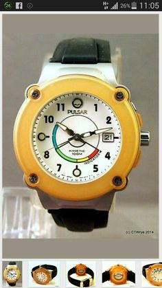 Saw this on eBay: Pulsar kinetic watch