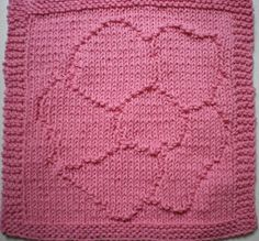 Breast Cancer Dishcloth Knitting Pattern : Breast Cancer Awareness Ribbon knitted dishcloth. I hate cancer! Knit one p...