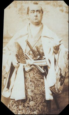 "Rutland Barrington as Pooh-Bah in the original DOC production of ""The Mikado"" in 1885."