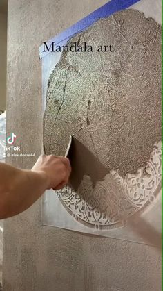 Wall Painting Decor, Faux Painting, Wall Texture Design, Wall Design, Home Crafts, Diy Home Decor, Room Decor, Home Room Design, House Design