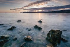 Sunrise at Red Wharf Bay (Traeth Coch) #3, Anglesey, North Wales