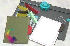 Tab con Envelope Punch Board   l'arte vista da me