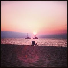 Enjoying the sunset on Kaanapali Beach, #Maui.  #MauiMoment #Instagram #Hawaii #gohawaii
