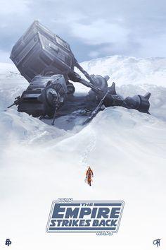 """ The Empire Strikes Back ""by John Hughes"
