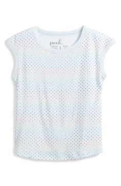 Peek+'Violet'+Cap+Sleeve+Tee+(Toddler+Girls,+Little+Girls+&+Big+Girls)+available+at+#Nordstrom