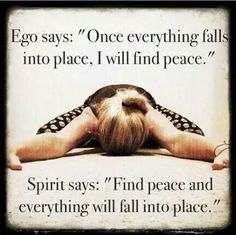 Peace life quote