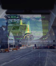 WayRay Car Ui, Ar Technology, Automotive Industry, Holographic