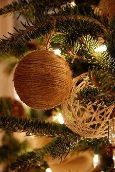 20 chouettes idées de bricolage pour dans l'sapin de Noël - DIY Idees Creatives