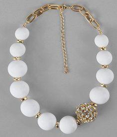 DIY bridal Jewelry U Collana Di Corda, Collana Di Perline, Gioielli Fatti  Di Perle