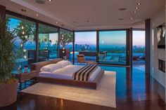 High Among the Tree Tops, An Exquisite Jewel on a Self-Contained Beverly Hills Enclosure.