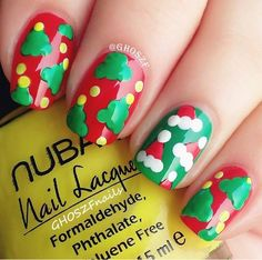 #christmas #nailart