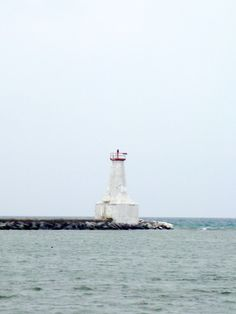 Old lighthouse in Cobourg, Ontario. Ontario, Statue Of Liberty, Old Things, Canada, Explore, Lighthouses, Country, City, Destinations
