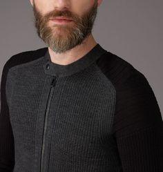 Mens Cranfield Cardigan from Belstaff UK | Mens Designer Jumpers & Cardigans
