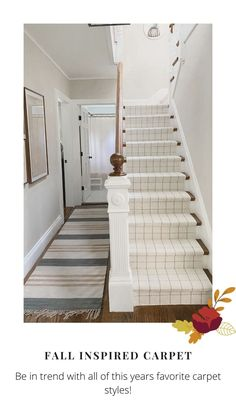 Home Carpet, Carpet Sale, Rugs On Carpet, Hall Runner, Custom Carpet, Soothing Colors, Pink Houses, Staircase Ideas, Hallway Ideas