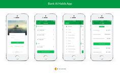 Bank-Al-Habib-App-Design on Behance