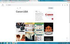 Canon communiceert met klanten door fototips te delen op hun Pinterest https://nl.pinterest.com/CanonUSA/?eq=canon&etslf=4592