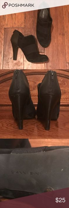Gianni Bini Suede Booties Size 9, Gianni Bini Suede Booties.  Some minor wear on heels.  In good pre-owned condition. Gianni Bini Shoes Ankle Boots & Booties