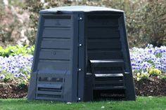 Large Recycled Plastic Compost Bin #PlasticsInTheGarden