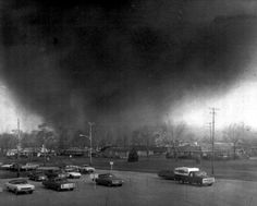 April 3-4, 1974: 148 tornadoes hit the United States heartland within 16 hours. By the time the deadly storm ended, 330 people had died and damage was spread across 13 states and Ontario, Canada. It remains the second largest tornado outbreak on record for a single 24-hour period, just behind the April 25-28, 2011 outbreak. It remains the most violent outbreak ever recorded, with 30 F4 and F5 tornadoes.
