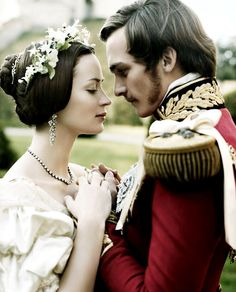 """I'm sure you're aware why I wished you to come here. Because it would make me happier than anything, too happy really, if you would agree to what I wish.""  ""And stay with you?""  ""And stay with me.""   ""And marry you?""   ""And marry me!""  - The Young Victoria"