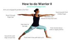 How to do Warrior II