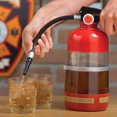 Fire Extinguisher Drink Dispenser / TechNews24h.com