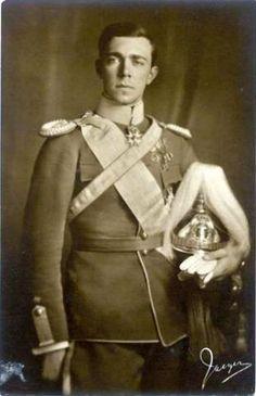 Prince Gustaf Adolf, Duke of Västerbotten, father of the current King of Sweden, King Carl XVI Gustaf of Sweden