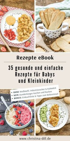 Rezepte eBook Baby & Kleinkind eBook: Healthy and simple recipes for babies and toddlers - 35 vegetarian recipes without white flour, industrial sugar Pork Recipes, Baby Food Recipes, Vegetarian Recipes, Family Meals, Kids Meals, Easy Meals, Fingerfood Baby, Baby Food By Age, Mary Recipe