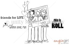$24.00 This kit includes 4 stamps. VICKI, CATHERINE & LEICA GIRLS