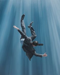 """Recent work by contemporary surrealist Australian artist Joel Rea. """"Wikipedia describes Contemporary art as having developed from Postmodern art and although Joel Rea is very… Art Reference Poses, Photo Reference, Artist Art, Postmodern Art, Ghost In The Machine, Anatomy Poses, Surrealism Painting, Conceptual Painting, Design Posters"""