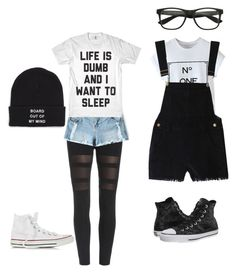 """""""Untitled #82"""" by sarcasmqueen1203 ❤ liked on Polyvore featuring Converse, Vans, women's clothing, women's fashion, women, female, woman, misses and juniors"""