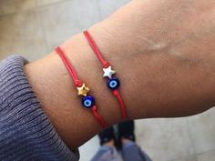 Excited to share this item from my shop: Star bracelet Evil eye bracelet Star jewelry gift for women Wish bracelet Friendship bracelet Celestial jewelry Star charm bracelet Evil Eye Bracelet, Anklet Bracelet, Bracelet Set, Evil Eye Jewelry, Wish Bracelets, Silver Bracelets, Beaded Bracelets, Silver Earrings, Jewelry Necklaces