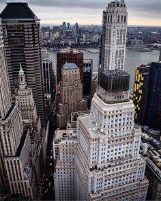 Standar oil company building  Downtown Manhattan  New York