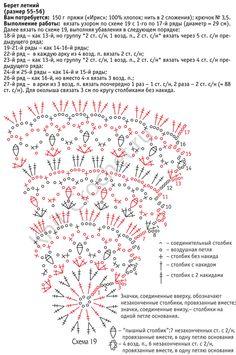 Crochet Chart, Crochet Hooks, Knit Crochet, Crochet Patterns, Crochet Edgings, Crochet Tablecloth, Master Class, Doilies, Mittens