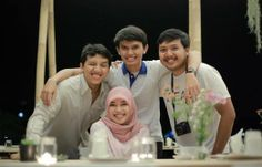The Quartet: Growbox are four friends with creative idea of urban farming, from left to right: Aldi, Robbi, Adi, and Ani...