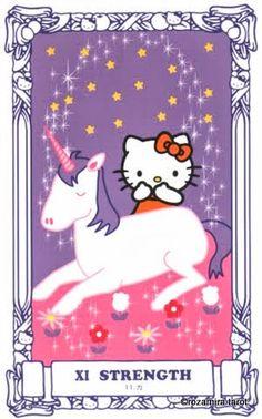 hello kitty tarot - strength