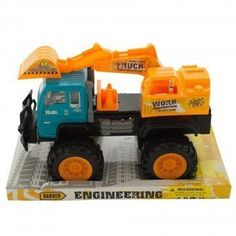 Toy Construction Excavator Truck