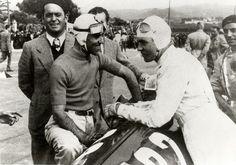 GP ITALIA 1937 , ALFA romeo 12C-36 #22 of Tazio Nuvolari with Bernd Rosemeyer