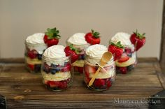 Unconventional Wedding Food Your Guests Will Obsess Over: Huffington Post - Strawberry Shortcake in a Jar